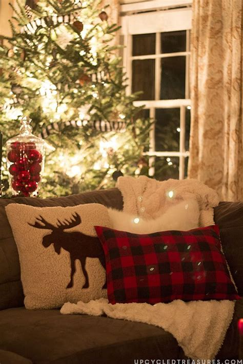 rustic woodland inspired christmas christmas decor