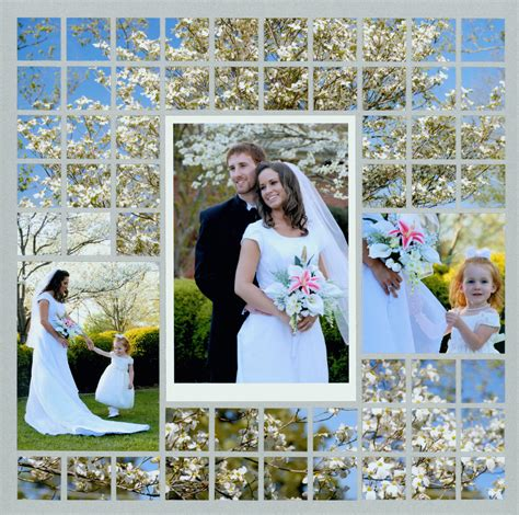 photo mosaic layout 5 reasons to create floral scrapbook pages
