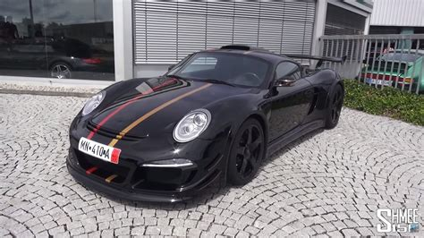 porsche ruf ctr3 get an in depth look at the loosely porsche cayman based