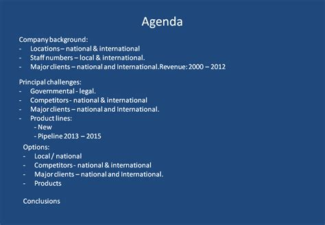 Agenda Slides Don T Work There Is An Effective And Powerpoint Agenda Slide