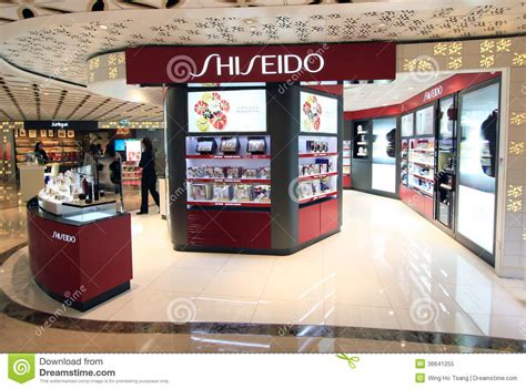 Shiseido Shoo shiseido shop in hong kong editorial image image 36641255