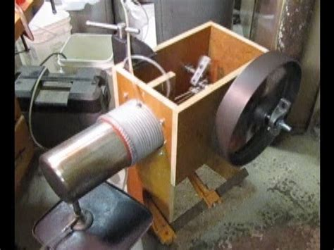 attempt to build a large stirling engine