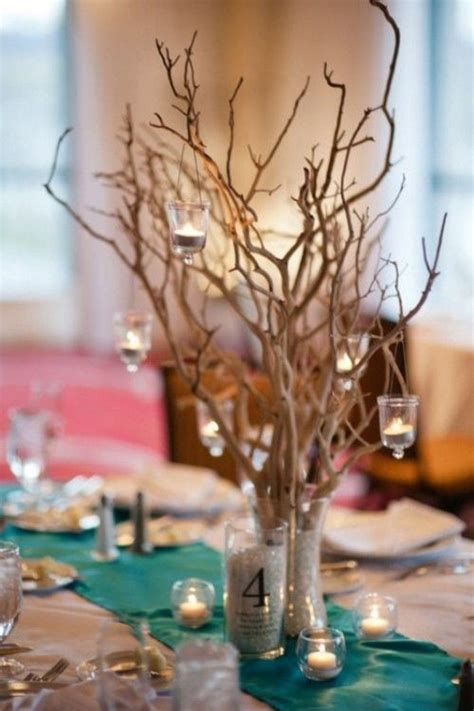 tree branch centerpieces for weddings 30 chic rustic wedding ideas with tree branches tulle