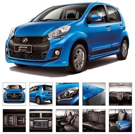 Harga Upt Clear Blue model perodua myvi baru facelift 2015 relaks minda