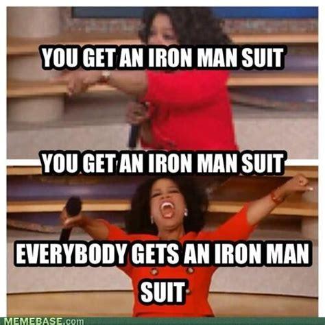 Iron Man Meme - iron man 3 oprah meme