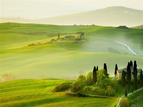 壁紙 イタリア、トスカーナ州、自然、夏、田舎、家、緑、美しい風景 2560x1600 HD 無料のデスクトップの背景, 画像 Iphone 5c Green Wallpaper