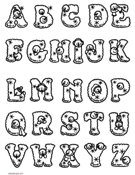 imagenes en linea html dibujos de las letras para colorear