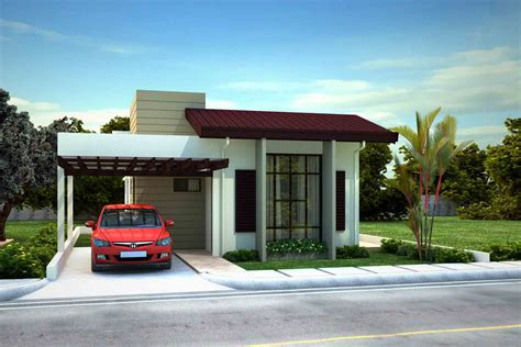 Carport Attached To House St James Homes Model Houses Naga City Real Estate