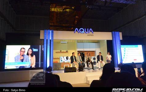Mesin Cuci Aqua Japan Otomatis aqua japan luncurkan produk produk canggih inovasi terbaru