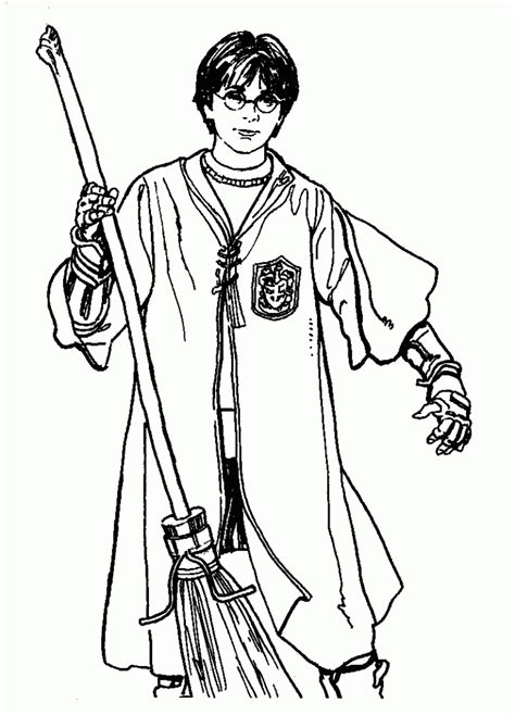 printable coloring pages harry potter free printable harry potter coloring pages for kids