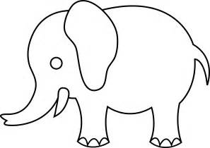 Elephant Outlines - Cliparts.co