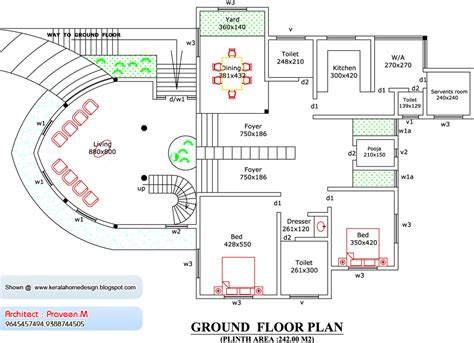 boat house floor plans boat house 4261 sq ft kerala home design and floor plans