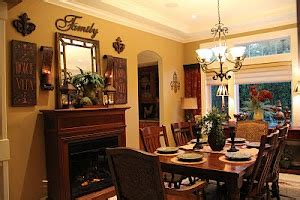 tuscan dining room tuscan style