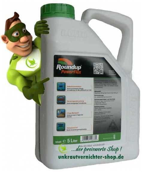 Unkrautvernichter Aus Polen by Roundup Powerflex 5 Liter Herbizid