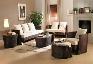 Livingroom Furniture Ideas by Modern Interior Decorating With Synthetic Wicker Furniture