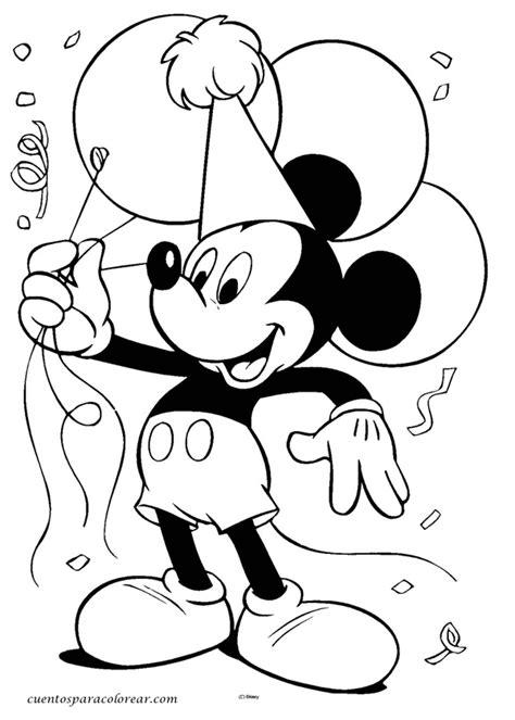 imagenes infantiles para cumpleaños dibujos para colorear cumplea 241 os