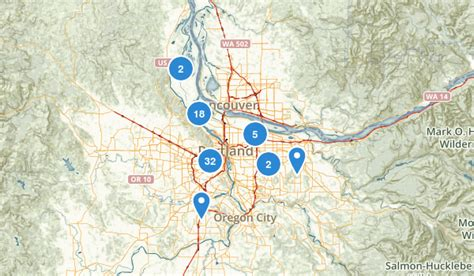 map for oregon 600 best trails near portland oregon alltrails