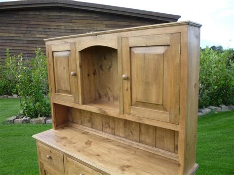 Handmade Kitchen Dressers - reclaimed antique pine made to measure kitchen dresser