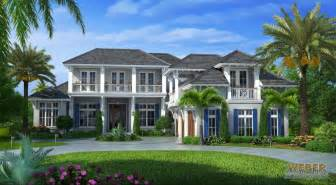 Mediterranean Homes Plans Naples Fl Architecture West Indies Style House Plan