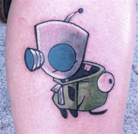 gir tattoos gir by aireelle on deviantart