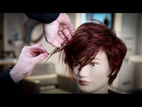 cuts by matt beck textured pixie haircut tutorial matt beck vlog 92 youtube