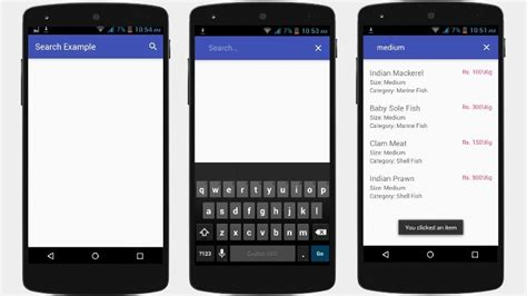image search on android android search view with php and mysql