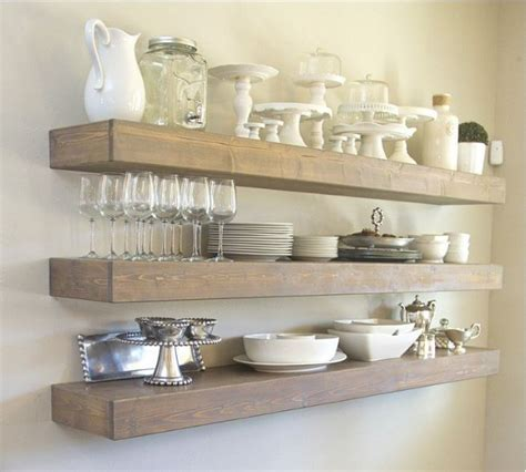 simple wood shelves 20 diy floating shelves you can build quickly and easily