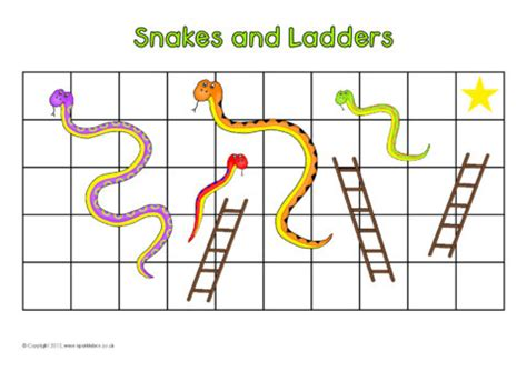 snakes and ladders template pdf editable snakes and ladders