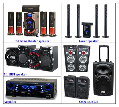 5 1 home theater speaker system with bluetooth fm mp5