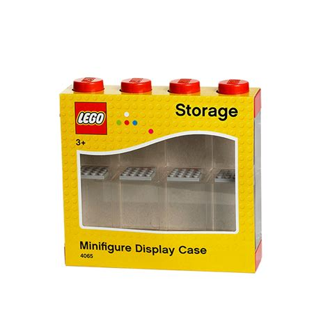 8 figure display lego storage box minifigure display