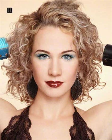hairstyles curly short 2018 permed hairstyles for short hair best 32 curly