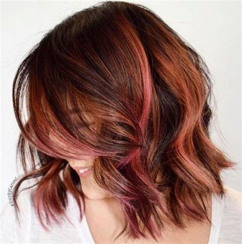 hairstyles with blonde and pink highlights 40 pink hairstyles pastel colors pink highlights blonde