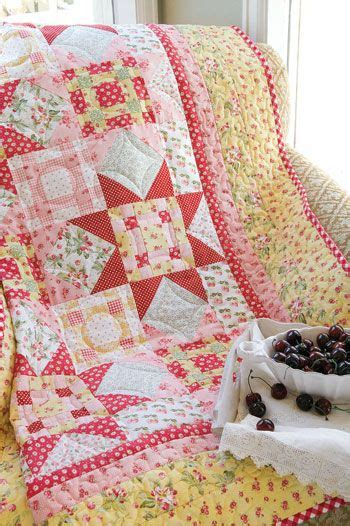 Mccalls Patchwork Patterns - gingham quilt and on