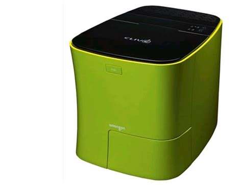 waste composter kitchen composter converts food waste to clean powder