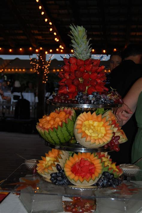 fruit table display 1000 ideas about fruit display wedding on