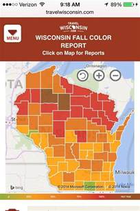 wisconsin color report fall foliage trackers where to go drive the nation