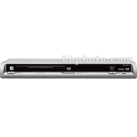 panasonic dvd s500 multi format dvd player with scart cable panasonic dvd s1 multisystem dvd player dvds1m b h photo video