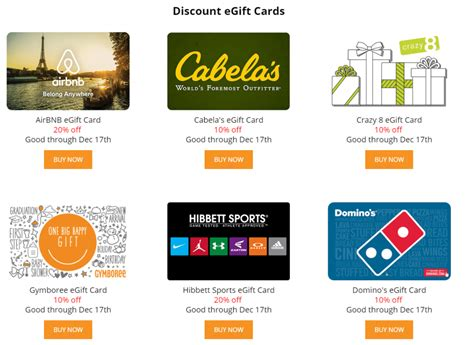 Airbnb Gift Card Sale - giftcardmall up to 20 off third party giftcards including airbnb doctor of credit