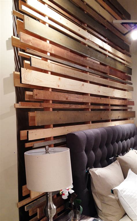 Wood Plank Headboard Design Trends From The Las Vegas Market 2015 Design Intervention Diary