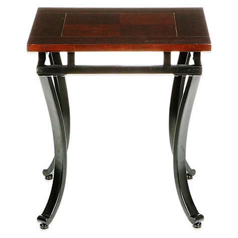 bed bath and beyond modesto southern enterprises modesto end table in espresso bed bath beyond
