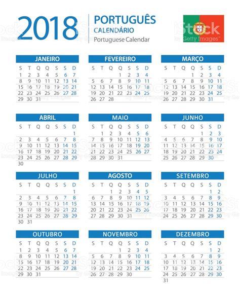 Portugal Calend 2018 Calend 225 2018 Vertical Azul Vers 227 O Em Portugu 234 S Arte