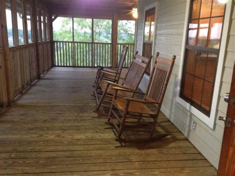 rocking chairs on porch picture of lake louisa state
