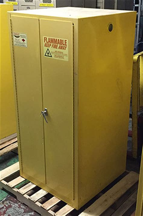 Used Flammable Cabinet by Ct Warehouse Racks Flammable Liquid Storage Cabinets
