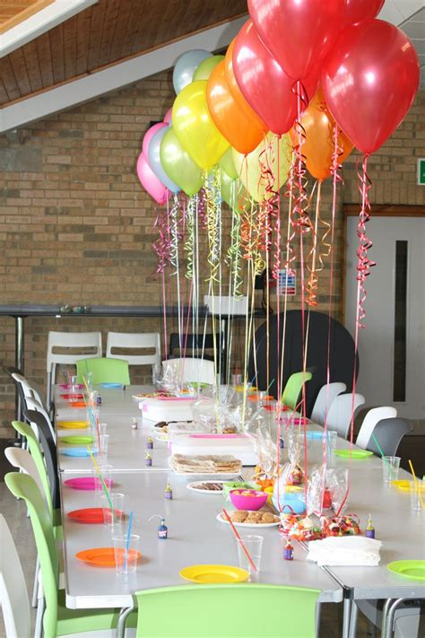 25 unique birthday table decorations ideas on