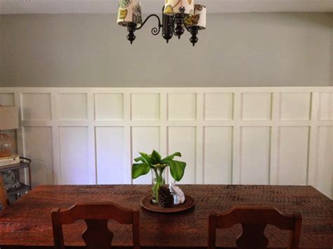 Dining Room Chair Rail Wainscoting All Home Decorations