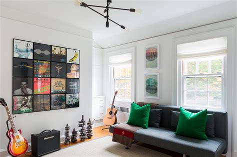 Great Idea For Cheap Wall Album Covers In Great Ideas For 3 D Wall That Aren T Antlers Hgtv S