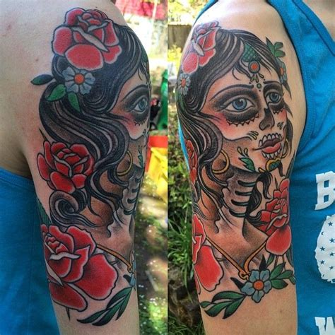 redman the rapper tattoos tattoo by jacob redman day of the dead