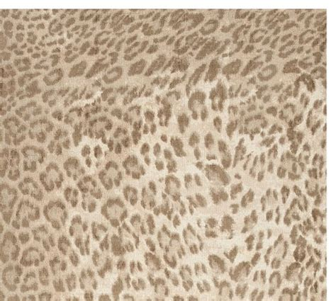 Leopard Rugs Pottery Barn by Leopard Printed Rug Neutral Multi Pottery Barn