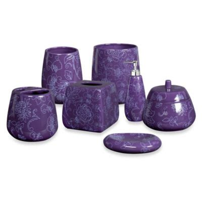 purple bath accessories buy purple bathroom accessories decor from bed bath beyond