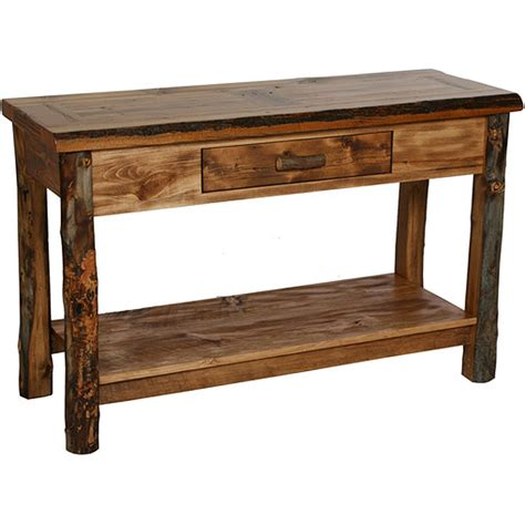 rustic sofa tables diy diy rustic console table with drawers diy do it your self